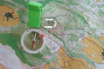 peta orienteering dan kompas